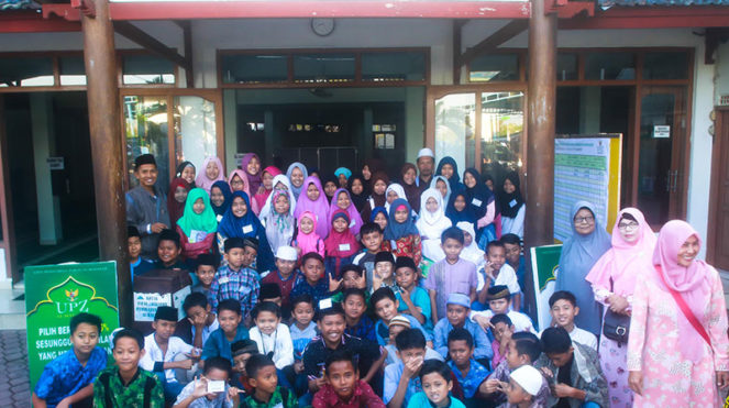 Santri TPQ Al-Hasanah Banjar Canggu Permai