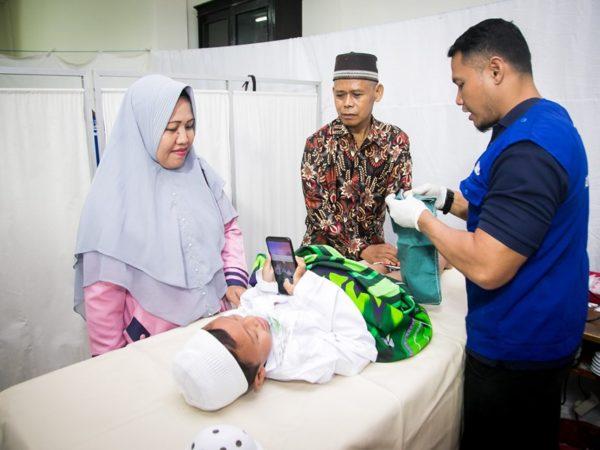 Khitanan Massal 21 Juli 2019 oleh RWM AL-Hasanah bekerjasama dengan Rumah Sunat Al-Ikwan (RSAI Dps)