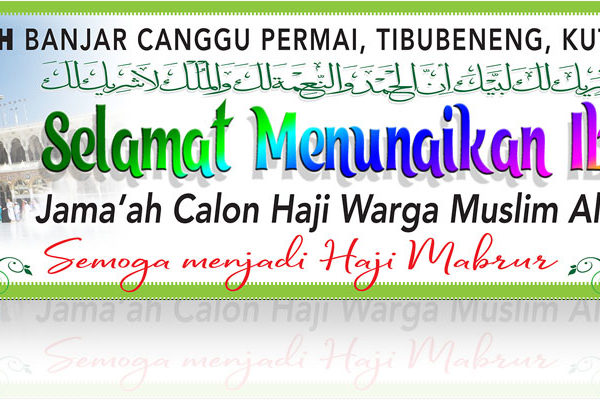 walimatussafar Jama'ah haji RWM Al-Hasanah