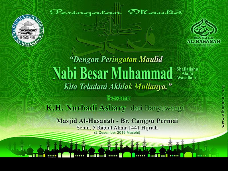 Peringatan Maulid di Masjid Al-Hasanah
