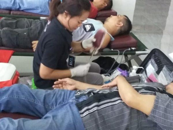 Donor Darah di Al-Hasanah Br. Canggu Permai