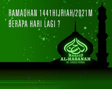 1 Ramadhan 2021