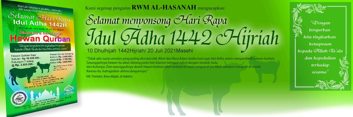 Selamat menyongsong Hari Raya Idul Adha 1442 Hijriah